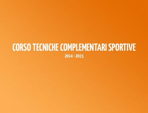 Corso Tecniche Complementari Sportive